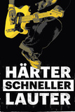 Her Schneller Lauter Posters