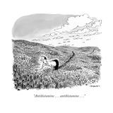 """Antihistamine . . . antihistamine . . ."" - New Yorker Cartoon Premium Giclee Print by Pat Byrnes"