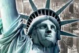 Statue of Liberty - close-up Prints