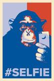 Selfie Monkey Posters