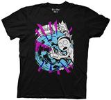 Rick & Morty - Morty with Portal and Gun T-Shirt