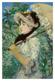 Jeanne Prints by Edouard Manet