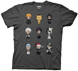 Bleach - Chibi Character Grid Shirts