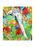 Tropical Paradise Parrot 2 Poster by Mary Escobedo