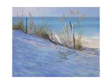 Sand & Sea View Premium Giclee Print by Jill Schultz McGannon