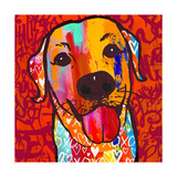 Happiest Lab! Prints by Evangeline Taylor