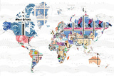 World of Stamps Plakater