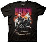 Bleach - Group Smoke T-shirts