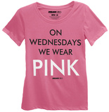 Mean Girls - On Wednesdays We Wear Pink T-shirts