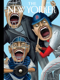 Strike Zone - The New Yorker Cover, May 1, 2017 Premium Giclee Print by Mark Ulriksen