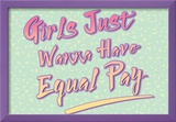 Equal Pay Posters