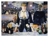 A Bar at the Folies-Bergere Posters by Édouard Manet