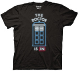 Doctor Who - The Doctor Is In T-shirts