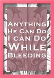 While Bleeding Prints
