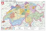 Schweiz - politisch Pósters