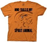 Naruto - Nine-Tails Is My Spirit Animal T-Shirt