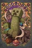 Minecraft - Creeper Nouveau Affiches