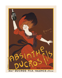Absinthe Ducros Fils, 1890 Art by Leonetto Cappiello