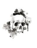 Skull I Prints by Philippe Debongnie