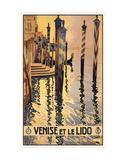 Venise et le lido Posters by  Vintage Poster