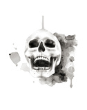 Skull IV Prints by Philippe Debongnie