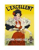 L'excellent, consommé de viande de bœuf Prints by Georges Meunier