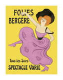 Folies-Bergere, 1900 Prints by Leonetto Cappiello