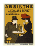 Absinthe. Liqueur Mont-Christ Prints by Leonetto Cappiello