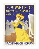 Massimo Buon Mercato, 1902 Poster by Leonetto Cappiello