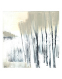 Winter Woods I Print by Cathe Hendrick