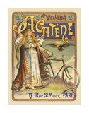 Acatène Velleda Art by Lucien Baylac