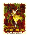 Liquer Cordial-Médoc, G. A. Jourde - Bordeaux Posters by Leonetto Cappiello