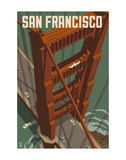 San Francisco - Golden Gate Bridge Posters by  Lantern Press