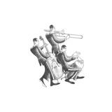 Latin Rhythms Print by Roger Vilar