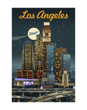 Los Angeles Art by  Lantern Press