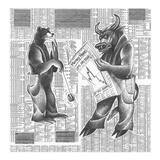 Market Ups and Downs Kunstdrucke von Roger Vilar