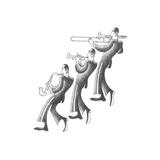 Jazz Melody Kunstdrucke von Roger Vilar