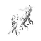 Swing to the Music Prints by Roger Vilar