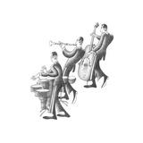 Cuban Trio Kunstdrucke von Roger Vilar