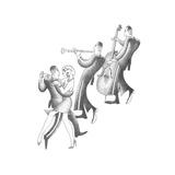 Follow the Rhythms Kunstdrucke von Roger Vilar