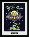 Rick & Morty - Ship Collector Print