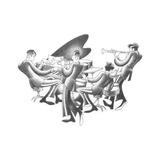 Cool Quartet Kunst von Roger Vilar