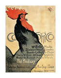 Cocorico, 1899 Posters by Theophile-Alexandre Steinlen