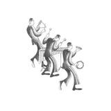 Marimba Section Poster von Roger Vilar