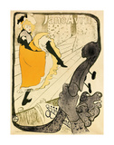 Jane Avril, 1893 Poster by Henri de Toulouse Lautrec