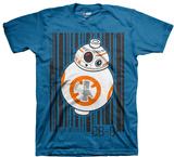 Juvenile: Lego Star Wars - BB-8 Barcode T-Shirt