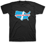 Jimmy Eat World - Across America T-shirts