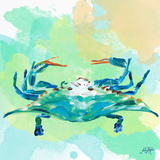 Watercolor Sea Creatures I Posters par Julie DeRice