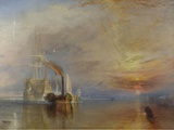 The Fighting Temeraire, 1839 Prints by JMW Turner