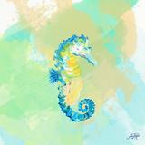 Watercolor Sea Creatures III Prints by Julie DeRice